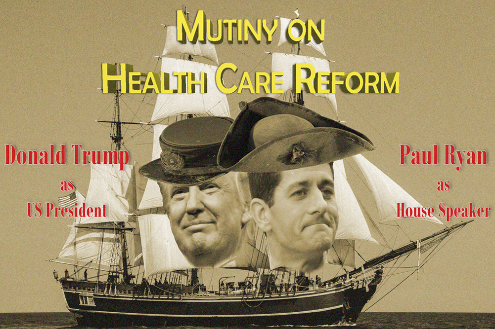 Republican Mutiny On Health Care Reform Imperils Tax Cut And Trump Agenda
