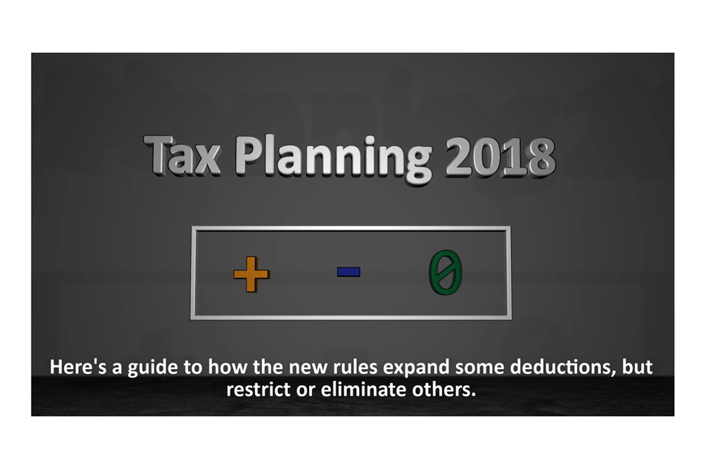 A Guide To The New Rules On Tax Deductions In 2018