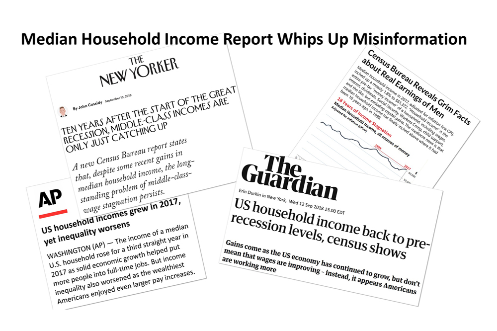 Widespread Misinformation Follows Household Median Income Report