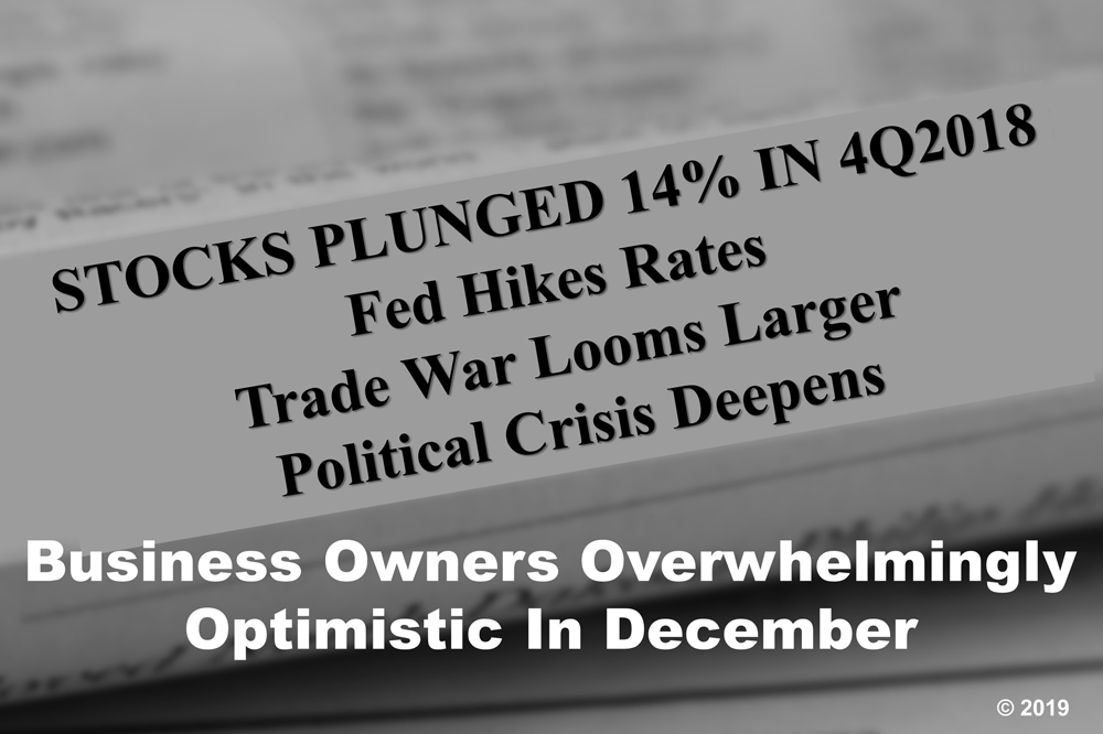 Despite December Turbulence, Economy And Business Optimism Were Strong