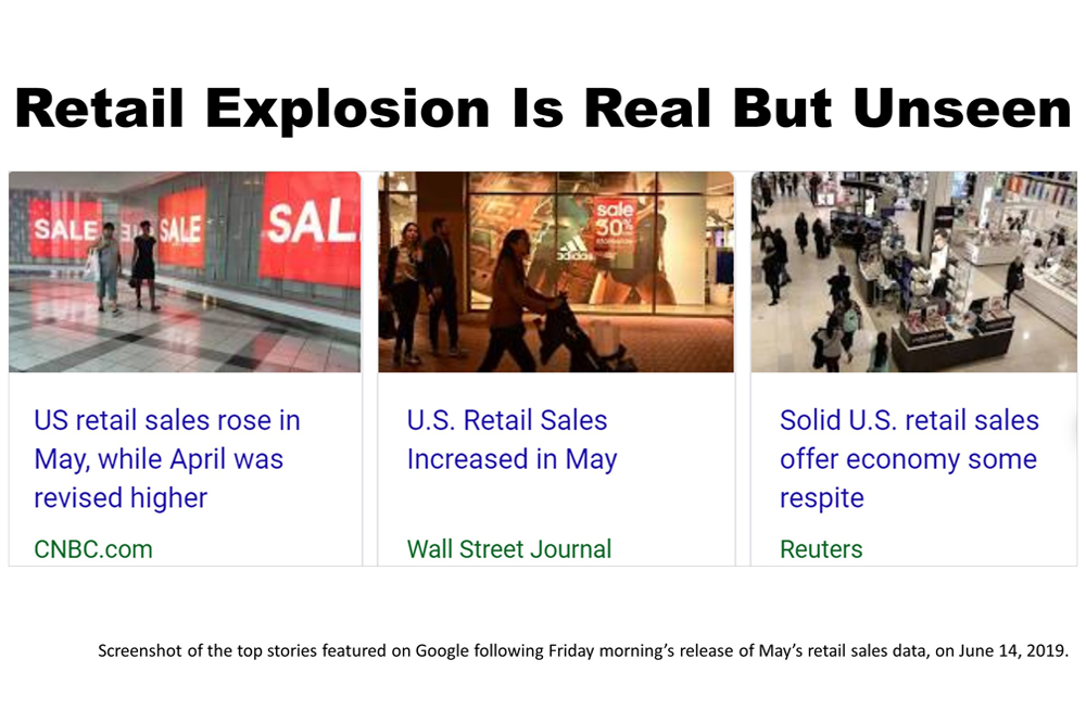 The Explosion In Real Retail Sales You Never Hear About