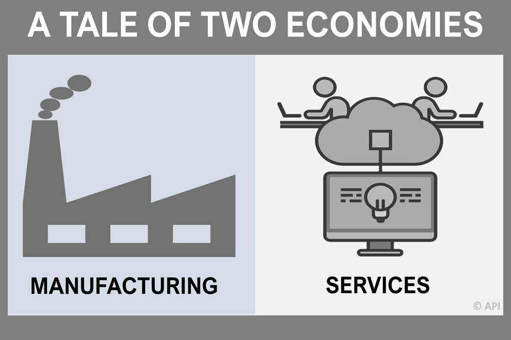 A Tale Of Two Economies