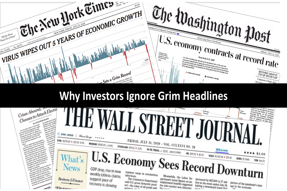 Despite Grim Headlines, Stocks Rose Sharply -- Why?
