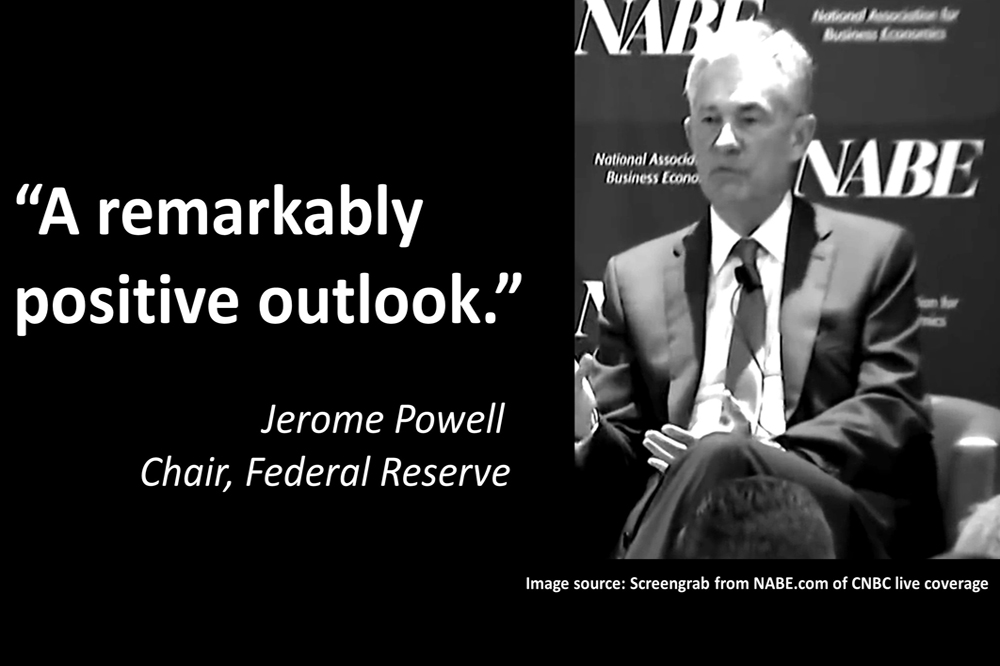 "Fed Chair: ""We Remain In Extraordinary Times."""