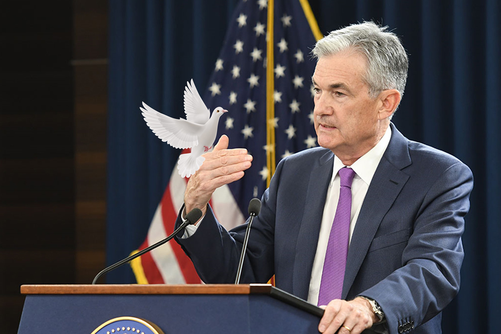 Fed Chair Extends A Dovish Hand, Lifting Stocks